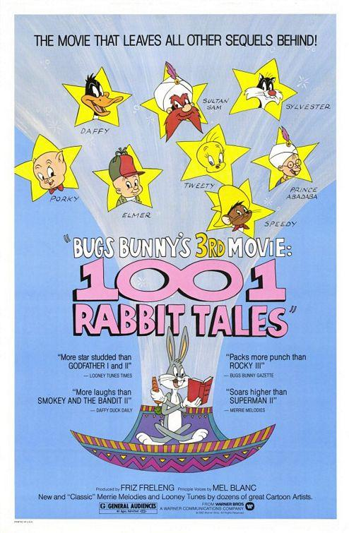 Bugs Bunny's 3rd Movie: 1001 Rabbit Tales credits