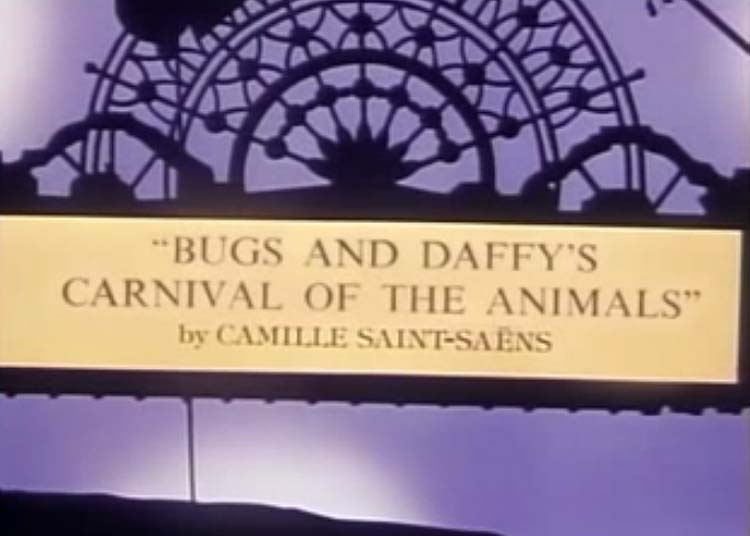 Bugs and Daffy's Carnival of the Animals credits