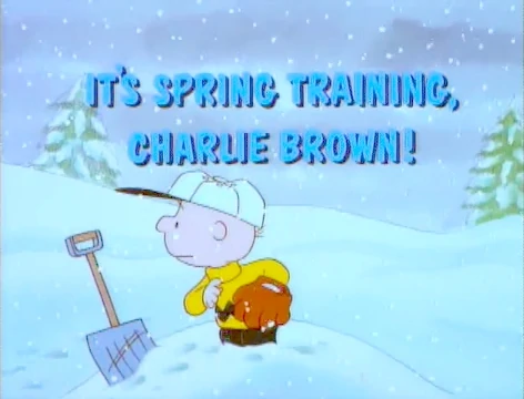 It's Spring Training, Charlie Brown! credits