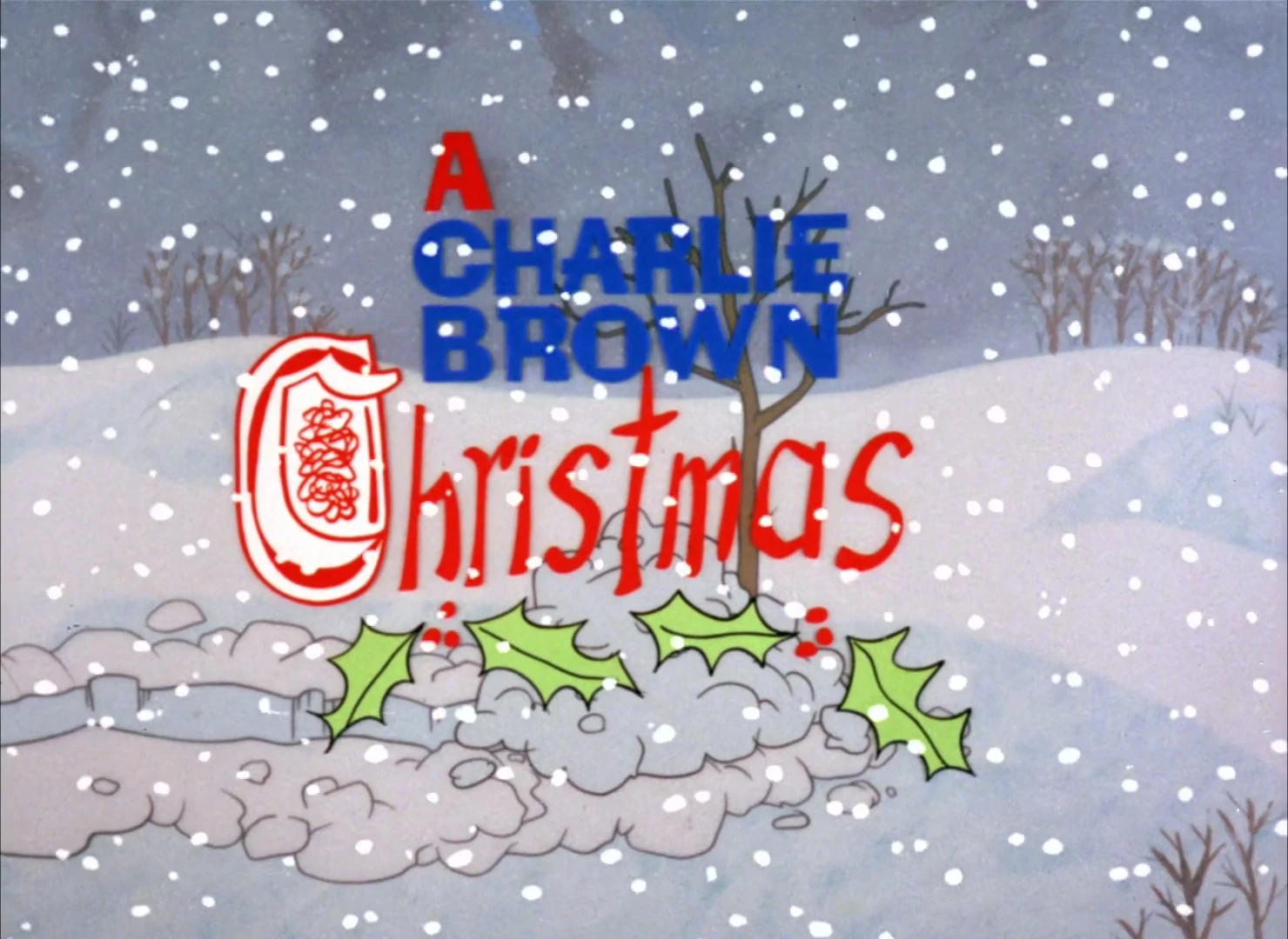A Charlie Brown Christmas credits