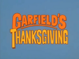 Garfield's Thanksgiving Credits