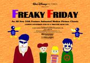 Bob Clampett and Tim Burton's Freaky Friday (1983) Poster