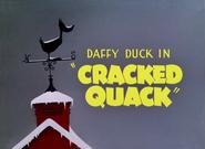 Cracked Quack (1952)
