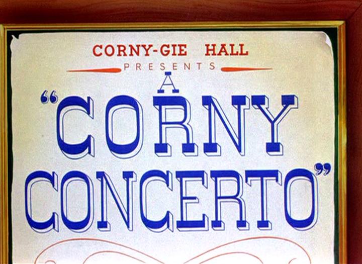 A Corny Concerto Credits