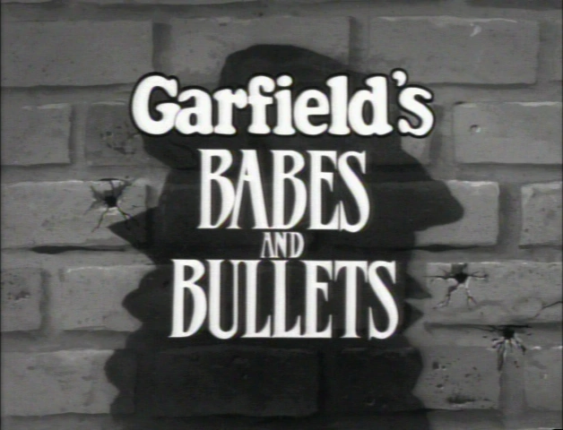 Garfield's Babes and Bullets credits