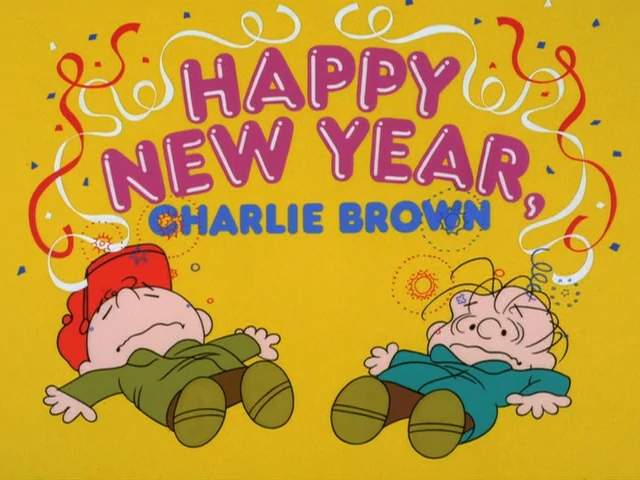 Happy New Year, Charlie Brown credits
