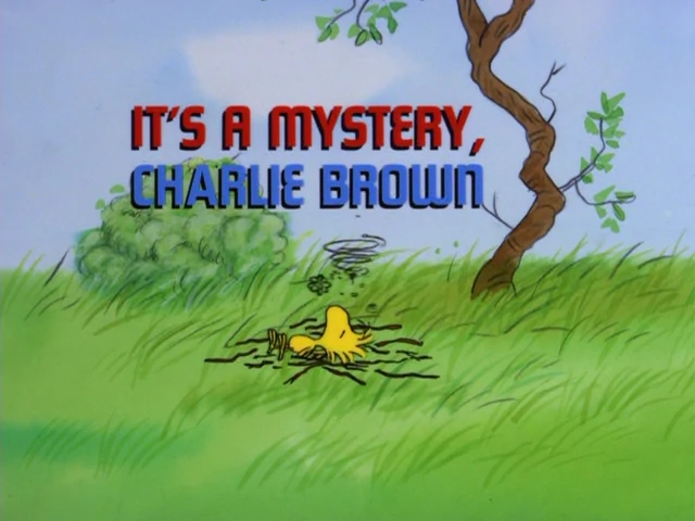 It's a Mystery, Charlie Brown credits