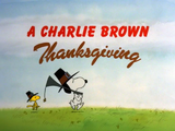 A Charlie Brown Thanksgiving credits