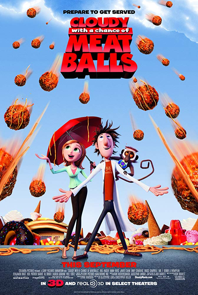 Cloudy with the Chance of Meatballs Credits