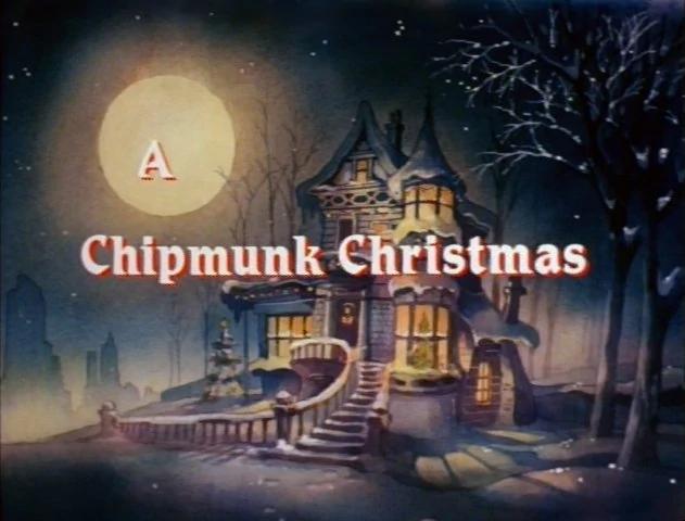 A Chipmunk Christmas credits