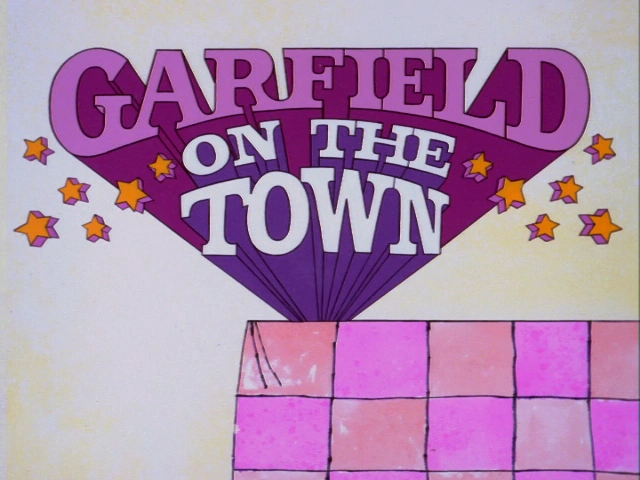 Garfield on the Town credits
