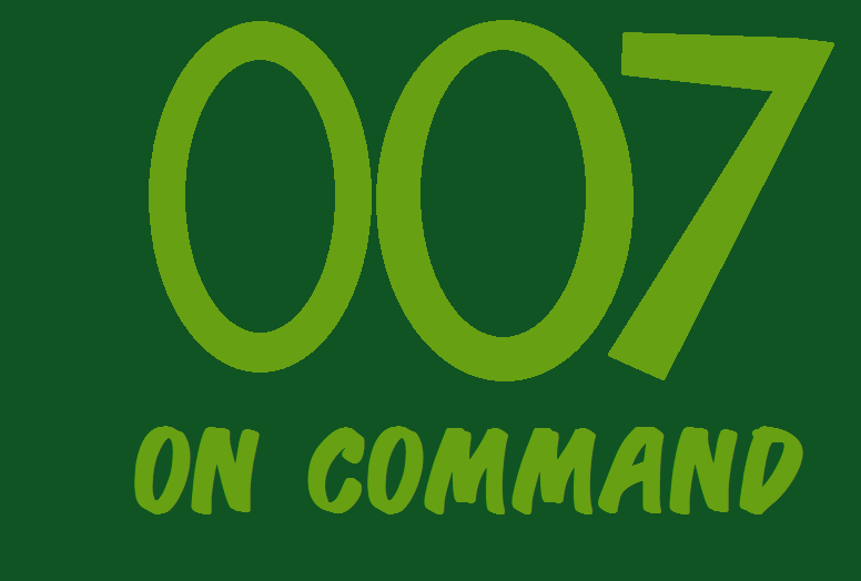 007 of Command credits