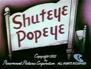 Shuteye Popeye (1952)