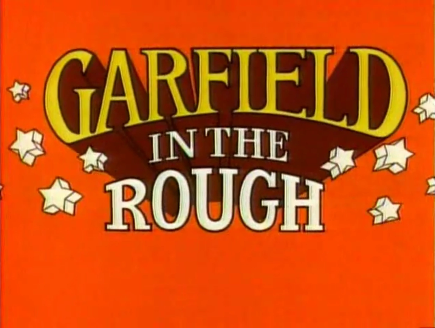Garfield in the Rough credits