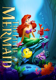 Disney's THE LITTLE MERMAID - 18X27 Original Promo Movie Poster.jpeg