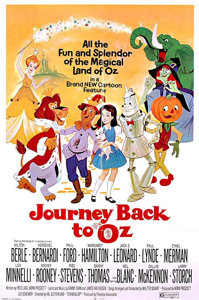 Journey Back to Oz credits