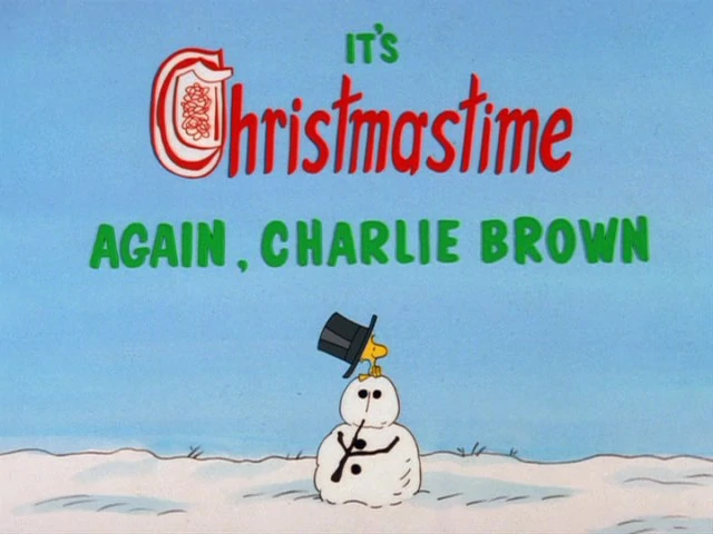 It's Christmastime Again, Charlie Brown credits