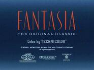Fantasia- The Original Classic (1940, 1990) Title Card