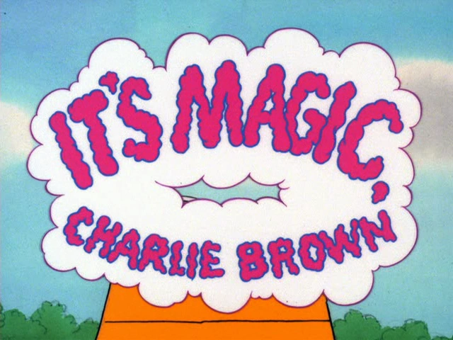 It's Magic, Charlie Brown credits