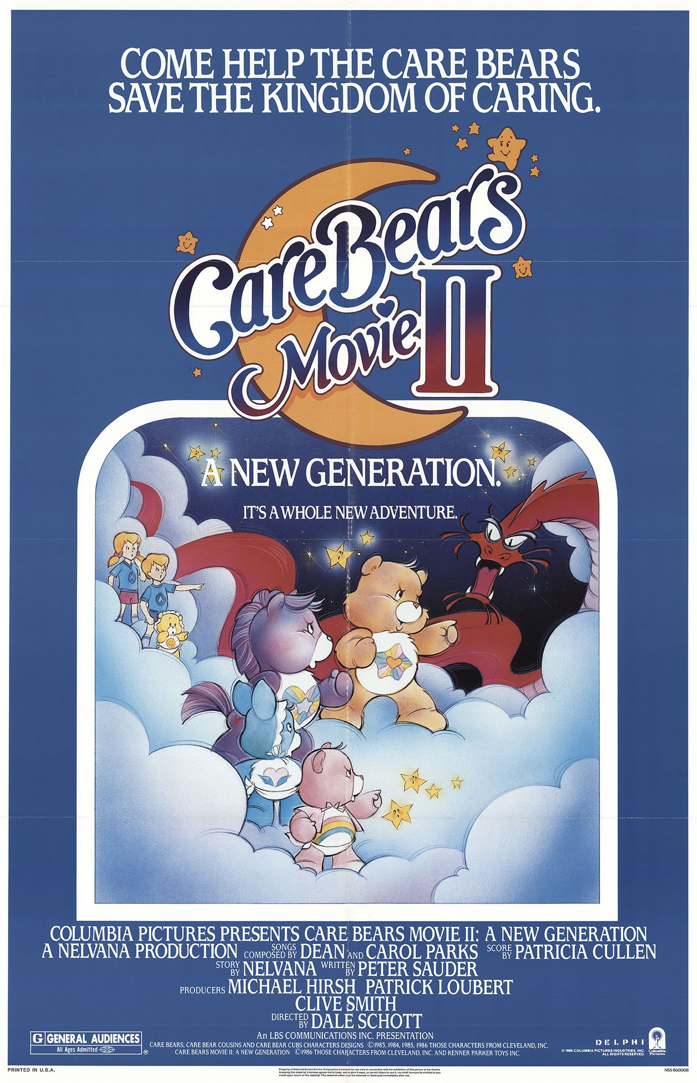 Care Bears Movie II: A New Generation credits