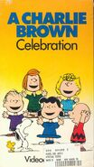 A Charlie Brown Celebration (1981) VHS Cover 1986