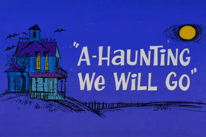 A-Haunting We Will Go credits