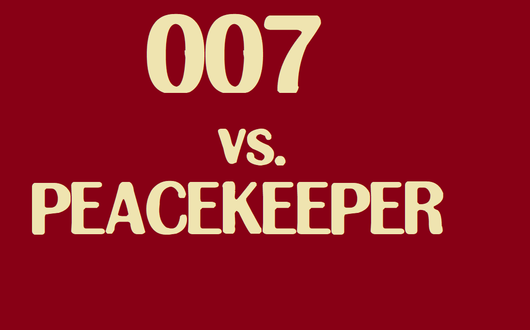 007 vs. Peacekeeper credits