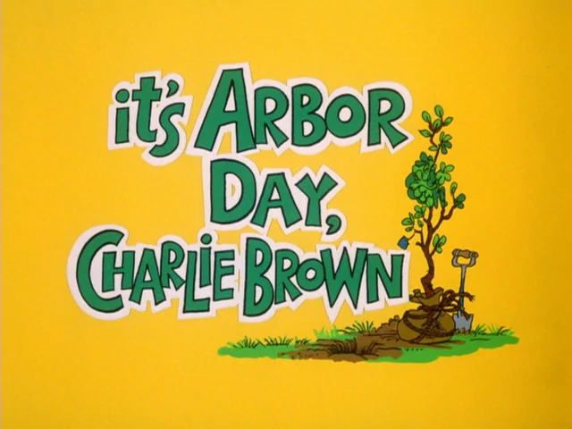 It's Arbor Day, Charlie Brown credits