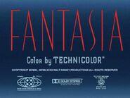 Fantasia (1940, 1982) Title Card