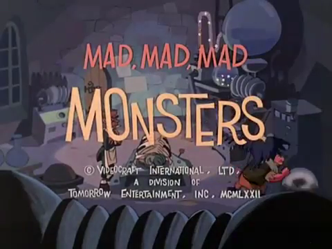 Mad Mad Mad Monsters credits