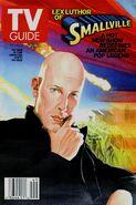 TvGuide Smallville-Ross cover Lex Luthor