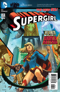 Supergirl Cover 7
