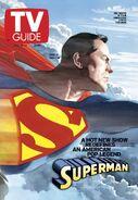 TvGuide Smallville-Ross cover Superman