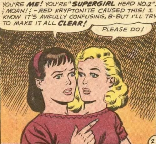 Supergirl Head No. 2