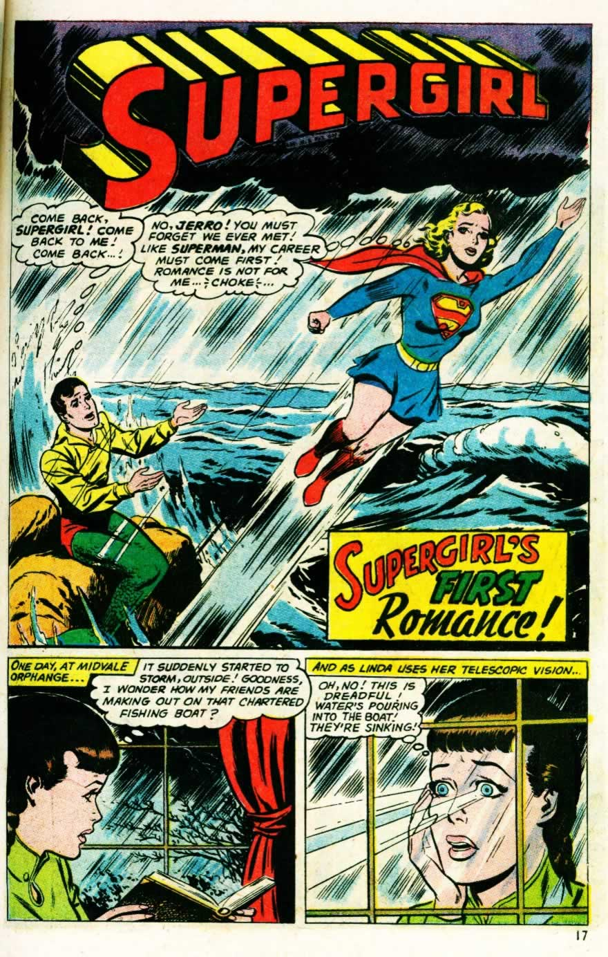 Supergirl's First Romance!