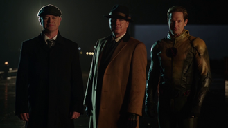 Damen Darhk, Malcolm Merlyn, and Eobard Thawne introduce themselves to Al Capone