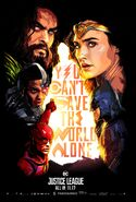Fandango-JL-Poster You can't save the world alone