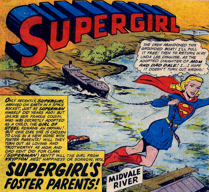 Supergirl's Foster Parents