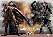 Arte Wonder Woman