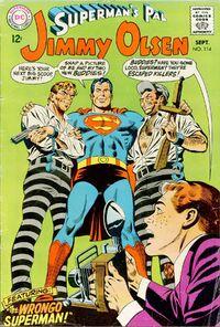 Supermans Pal Jimmy Olsen 114