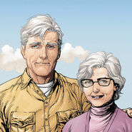 Martha and Jonathan Kent