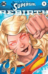 Supergirl 2016 Rebirth
