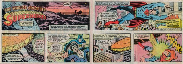 Superman strip movie