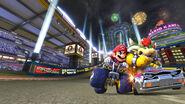 Mario and Bowser Scene - Mario Kart 8