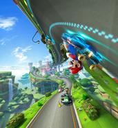 Illustration - Mario Kart 8