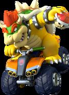 Bowser Artwork - Mario Kart 8