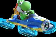 Yoshi Artwork (alt) - Mario Kart 8