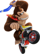 Donkey Kong Artwork - Mario Kart 8