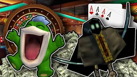 Boopkins and Bob in Casino Night
