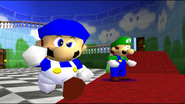 Mario And The T-Pose Virus 007